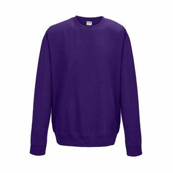 Sweatshirt lila