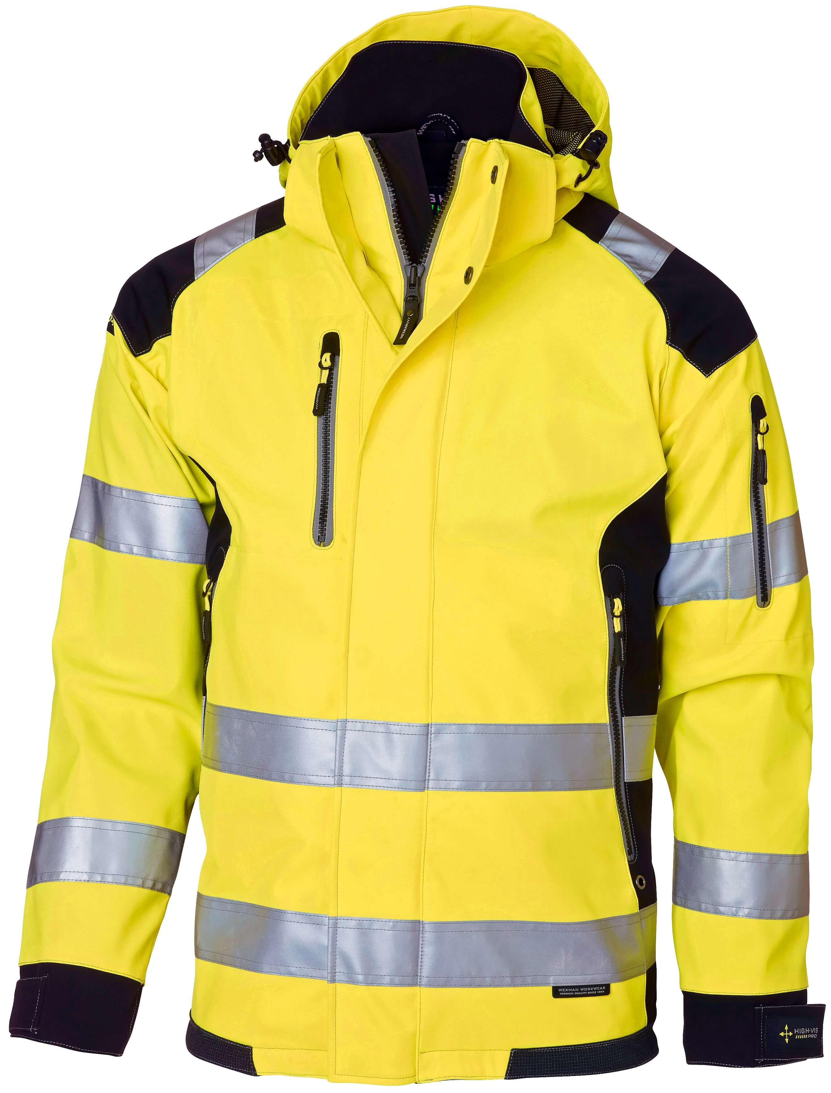 d750df4a Varseljacka Klass 3 | Skaljacka | Arbetsjacka | Wexman Workwear®
