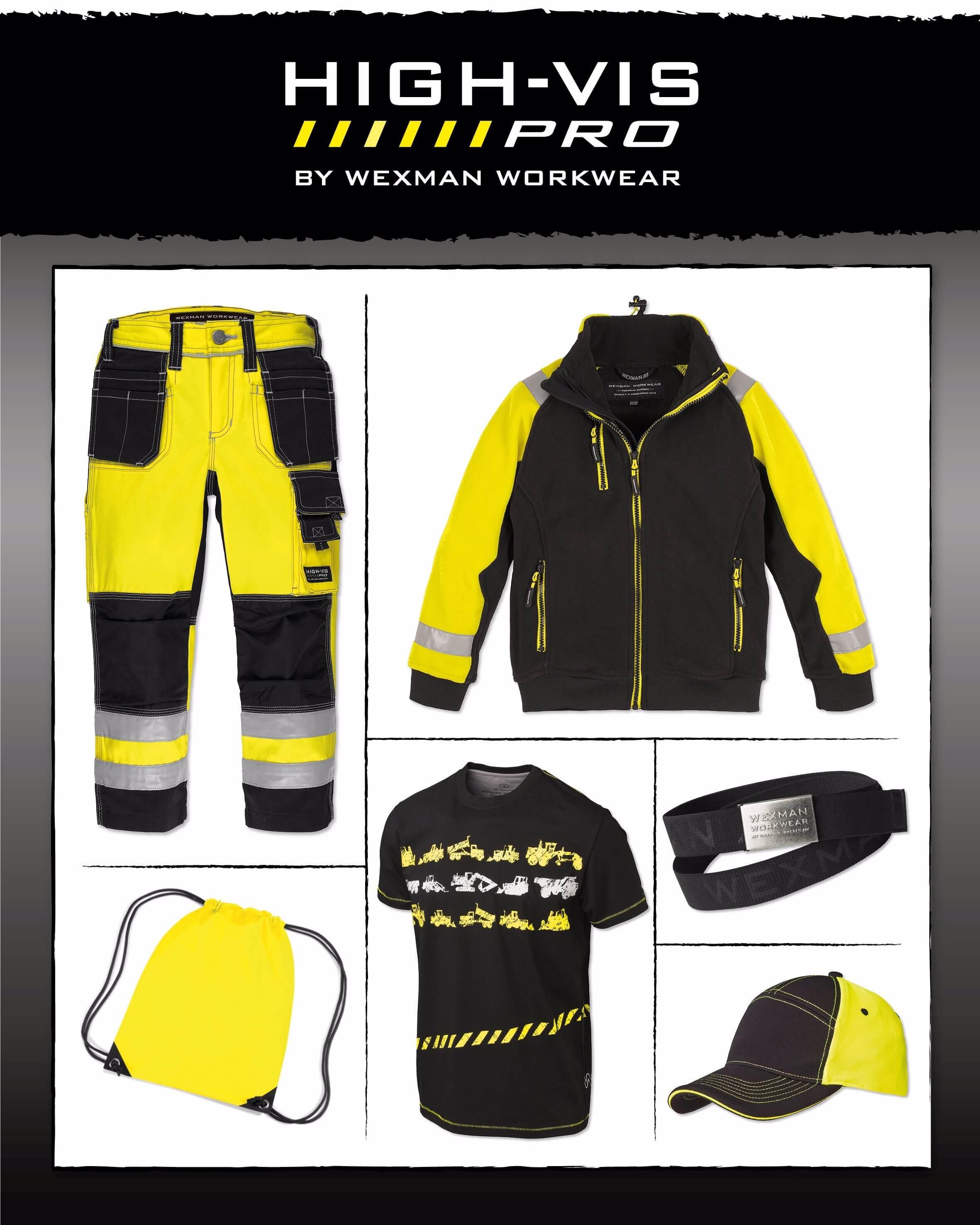 68f39b3c9dad Komplett paket med arbetskläder för barn | Wexman Workwear®