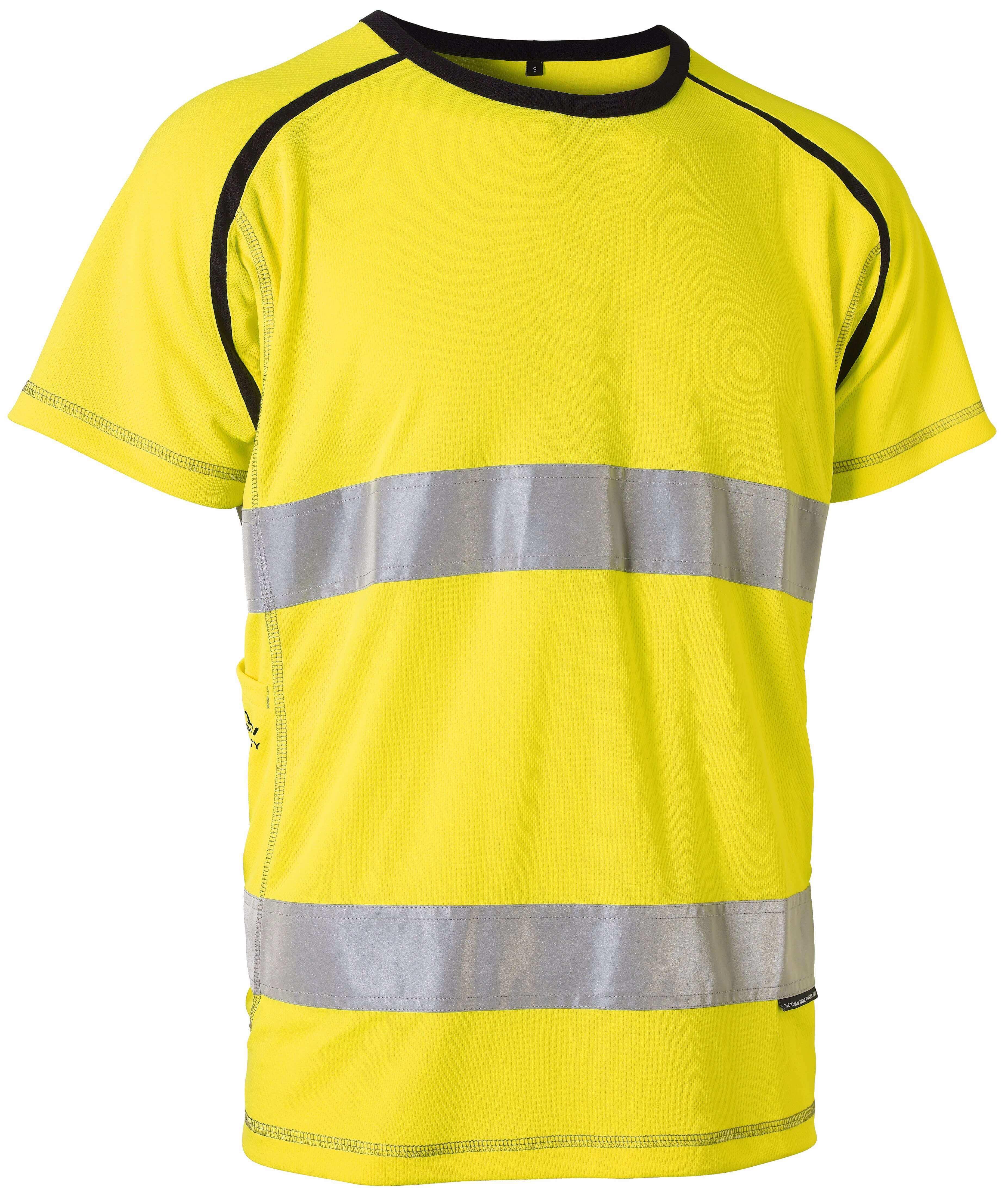 Kända T-shirt varsel med reflex   Wexman Workwear® JG-33