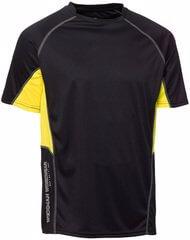 Funktionst-shirt svart gul