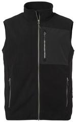 Patched Pocket Vest Polarfleece