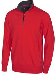 Half-Zip Sweatshirt Crew T-neck (L)