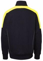 Sweatshirt Half-Zip svart och gul