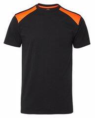 T-shirt svart och orange