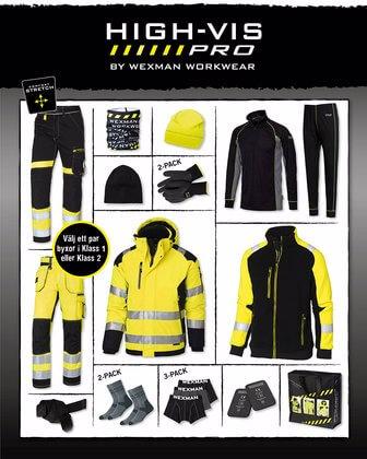 Vinterpaket Arbetskläder varselkläder